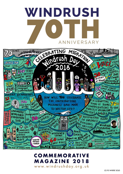 Windrush Commemorative magazine 2018